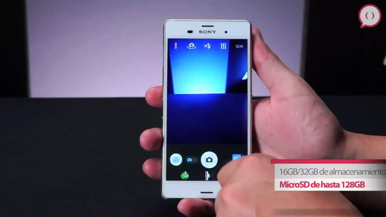 CARACTERISTICAS Celular Sony Xperia Z3