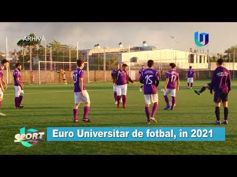 TeleU: Euro universitar de fotbal, în 2021