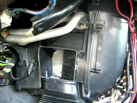 2001 Jeep Cherokee Radio Wiring Diagram 1992 Bmw Heater Core Removal Part 2 Mp4 Youtube