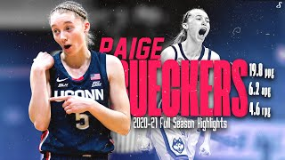 Paige Bueckers Historic UConn 2020-21 Freshman Season Full Season Highlights | AP & Naismith POY