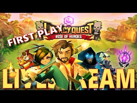 Legacy Quest Rise of Heroes - First Play - HD 1080p Live Stream
