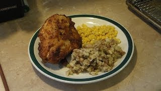 Pressure cooker deep fried chicken