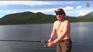 ПУТИН НА РЫБАЛКЕ! ПОЛНАЯ РЖАЧКА! СМОТРЕТЬ ВСЕМ))