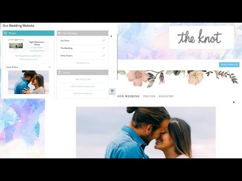 How I made our stunning online wedding invitations!