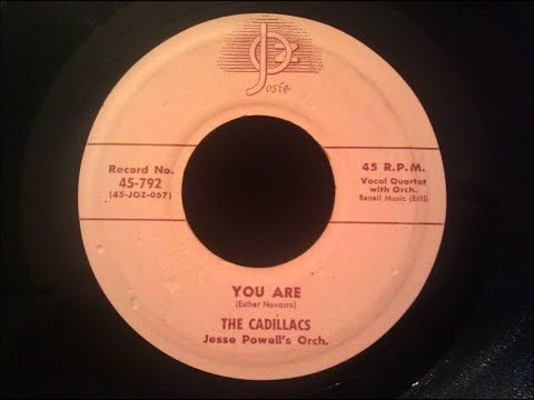 The Cadillacs - You Are (19657 Doo Wop Gold) HD