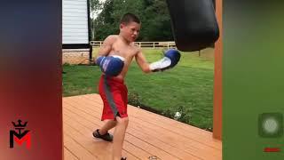 Baby Bruce Lee vs Baby Myke Tyson - Kung Fu vs Boxing Training Highlights