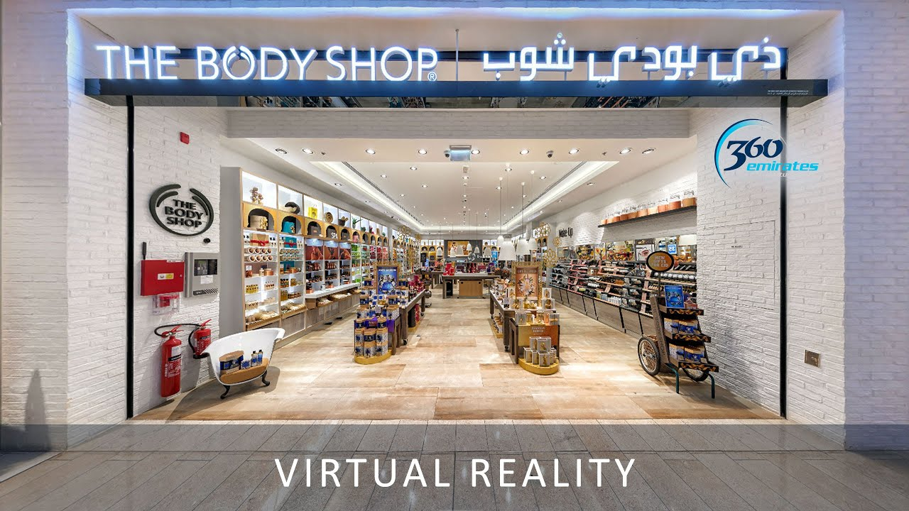 The Body Shop At Dubai Mall 360 Degree Video Youtube