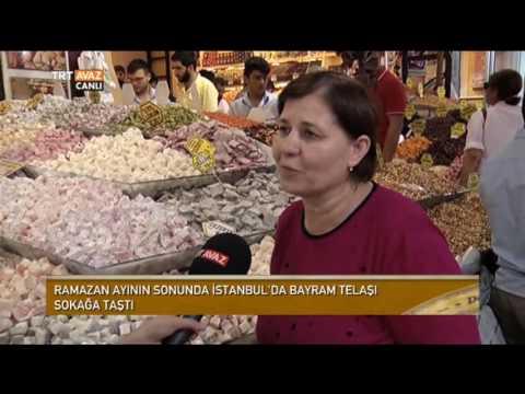 Eminönü Ve Mısır Çarşısı'nda Ramazan Alışverişi - Devrialem - TRT Avaz