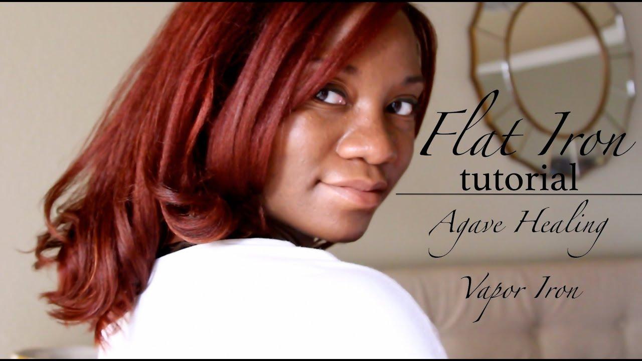 Agave Healing Vapor Iron On Natural Hair