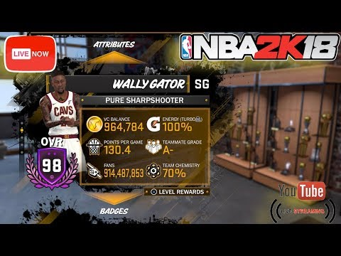 I'M LIVE | 99 OVERALL GRIND | 65.6% TO LEGEND | 98 OVERALL | SUB UP IF YOU NEW