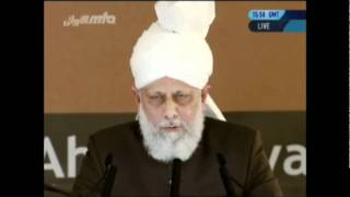Huzur (atba)'s Concluding Address at the 2011 Khuddamul Ahmadiyya Ijtema Germany