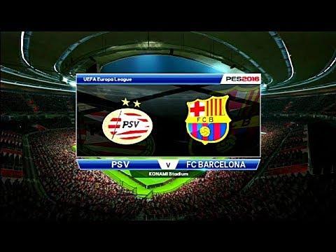 UEFA EUROPA  League / con Fc Barcelona /ps3 / pes16 /FC BARCELONA VS PSV