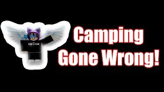 Camping trip turned into horror | ROBLOX Camping