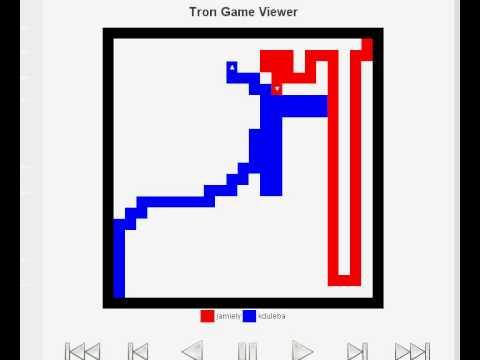 Tron Bot Visualization