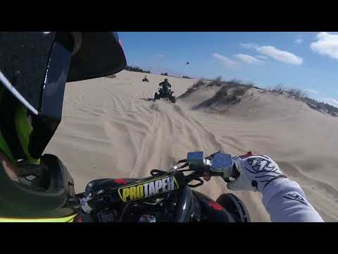 Sand dunes Spinreel Oregon May 2018