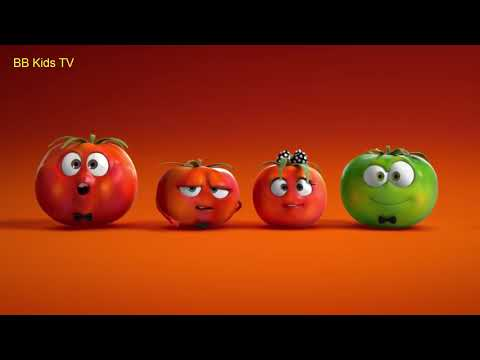 The Best Animation Commercial    part 3   funny cartoon ads for kids  crying tomato