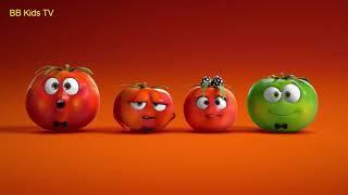 Le Meilleur de l'Animation Commerciale de la partie 3 de dessins animés drôles annonces pour les enfants qui pleuraient de tomate