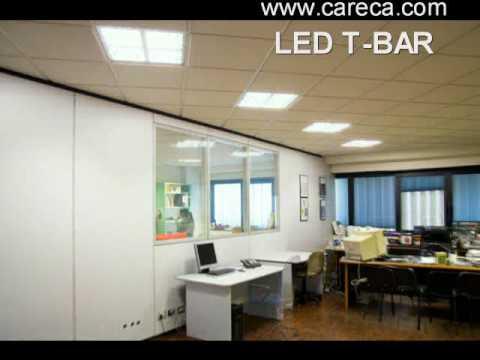 Plafoniere Neon Con Griglia : Sostituzione neon in ufficio con i led caso reale youtube