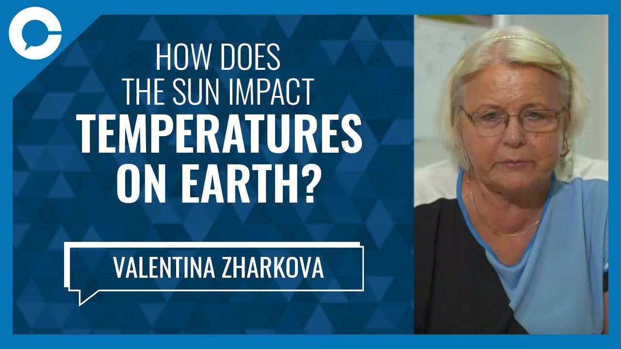 How the sun affects temperatures on Earth (w/ Valentina Zharkova, Northumbria  University) - YouTube