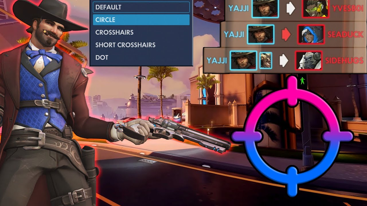 Overwatch: What Happened After I Changed My Crosshair