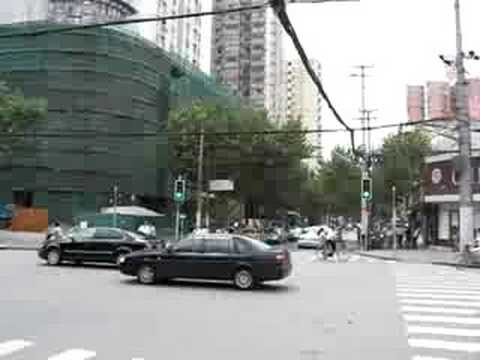 Shanghai intersection