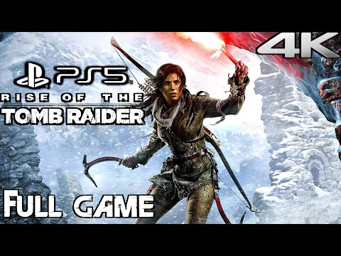 RISE OF THE TOMB RAIDER (PS5) Gameplay Walkthrough FULL GAME (4K 60FPS)