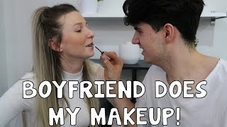 One of Kristen McGowan's most viewed videos: BOYFRIEND DOES MY MAKEUP!! w/ Christian Delgrosso