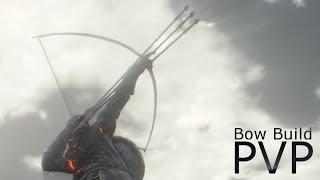 Dark Souls 3 - Black Bow of Pharis PvP - Bow Build