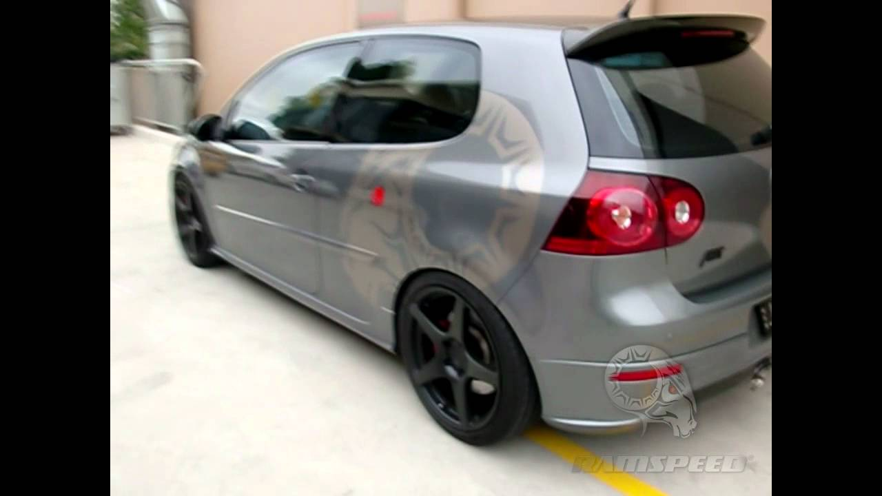 Vw Golf R32 Abt Sportsline Supercharger Kit Youtube