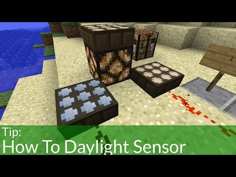 How Do Daylight Sensors Work In Minecraft