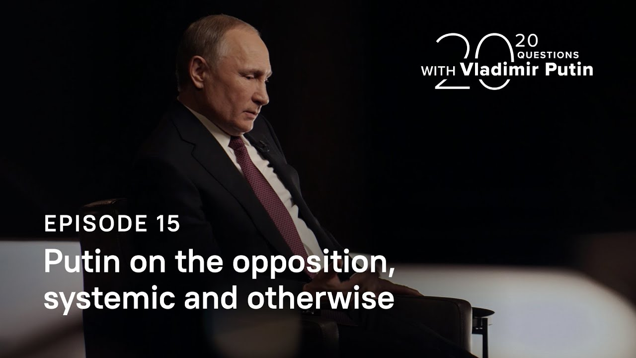 We Don T Need A Show What Vladimir Putin Thinks About The Russian Opposition And State Supported Political Competition Meduza