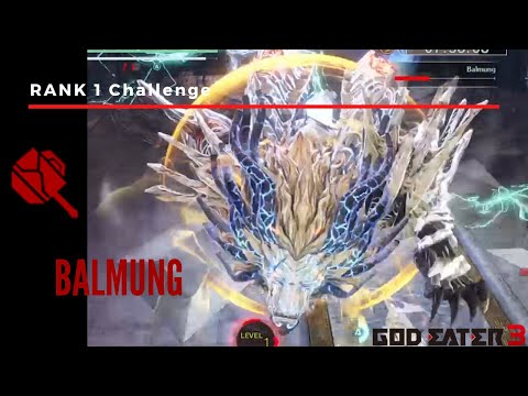 God Eater 3 ~ Rank 1 Gear vs Balmung from YouTube · Duration:  12 minutes 32 seconds
