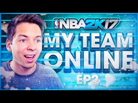 NEW PLAYER DOMINATES!! NBA 2K17 MY TEAM ONLINE #2
