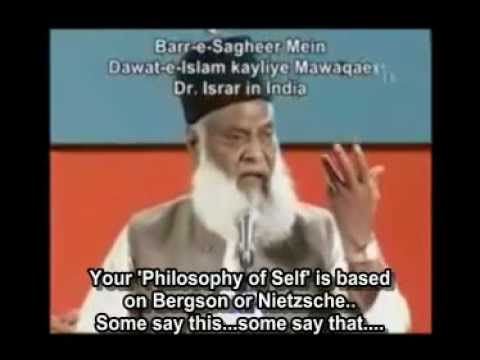 DR. ISRAR Ahmad is talking about doing job in bank is Haram or Halal