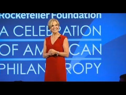 A Celebration of American Philanthropy -- Dr. Judith Rodin's Remarks