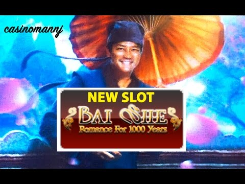*NEW SLOT* - BAI SHE - LIVE PLAY + BONUS - Slot Machine Bonus - 동영상