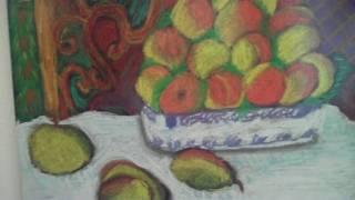 Renoir Inspired Still Life Pastel Paintings.wmv
