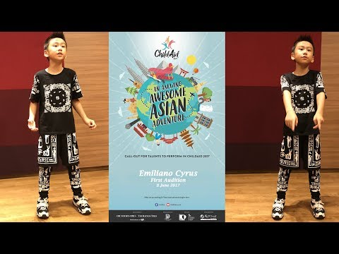 Emiliano Cyrus_ChildAid 2017 Audition