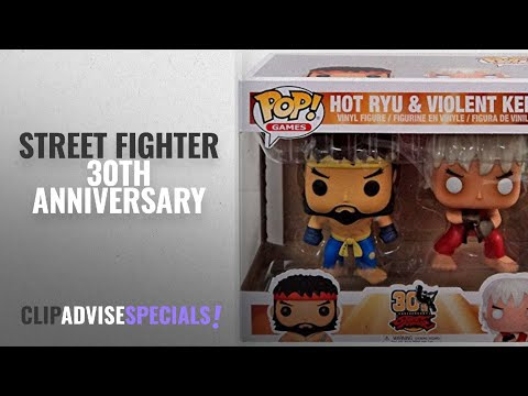 Top 10 Street Fighter 30Th Anniversary [2018]: Funko POP! Hot Ryu & Violent Ken 30th Anniversary