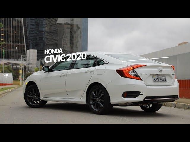 Honda Civic 2020 ganha facelift e versão inédita