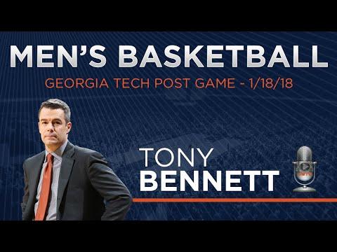 MEN'S BASKETBALL - Tony Bennett Georgia Tech Postgame