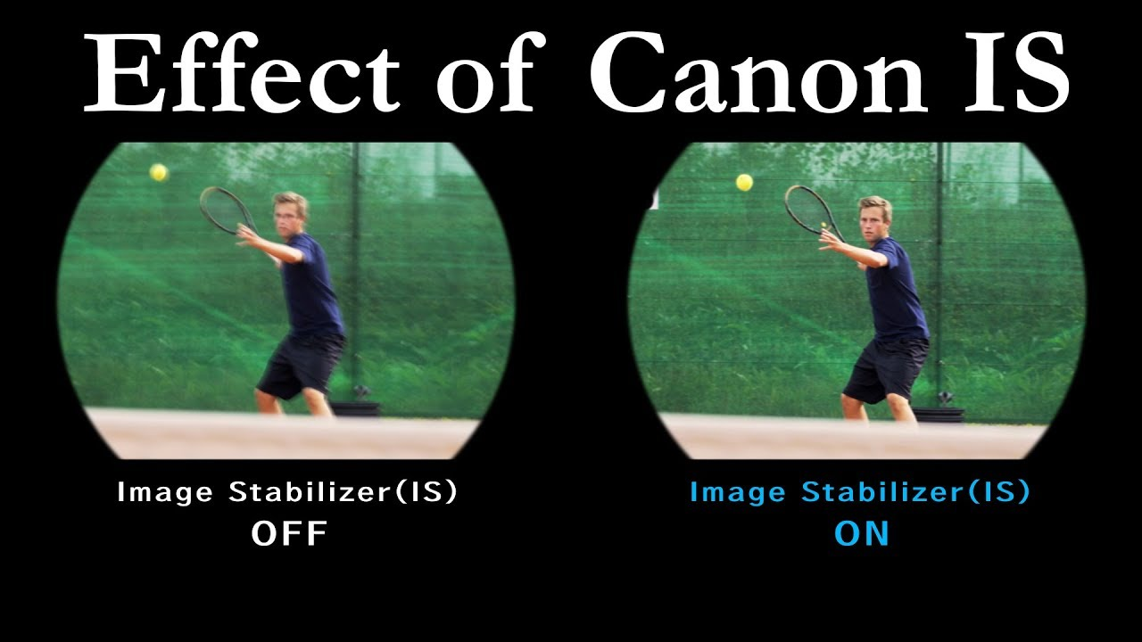 Effect Of Is In Canon Image Stabilizer Binoculars Youtube
