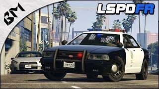 GTA 5 - LSPDFR 1.0c - Flic Débutant  - Patrouille Jour 02