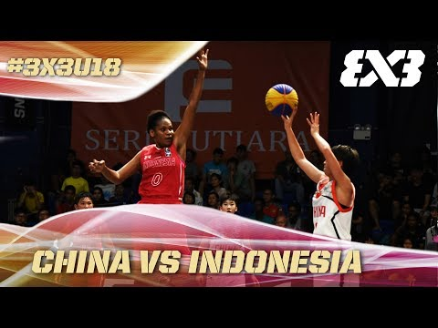 Indonesia's historic win vs. China - Full Game - Asia Cup U18 - FIBA 3x3