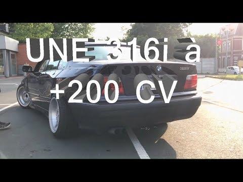 UNE BMW E36 BERLINE A 3 PORTES ?! - E36 FITMENT LAB REPROG à 200++