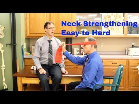 Neck Strengthening Exercises (Easy To Hard) Good For Whiplash, Arthritis, Etc.