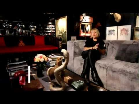 Cindy Gallop's Sexy All Black Apartment in Manhattan