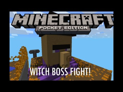 how to make a boss in minecraft pe