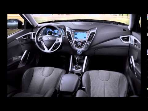 2014 Hyundai Veloster Interior Youtube