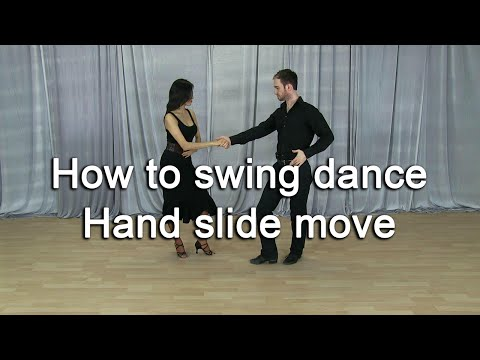 How to swing dance for beginners - Hand Slide Move